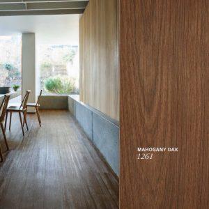 LG Hausys Wood Mahogany Oak