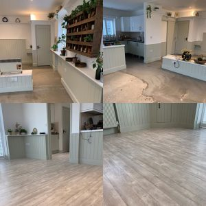 LVT Flooring example by Town and Country Floors